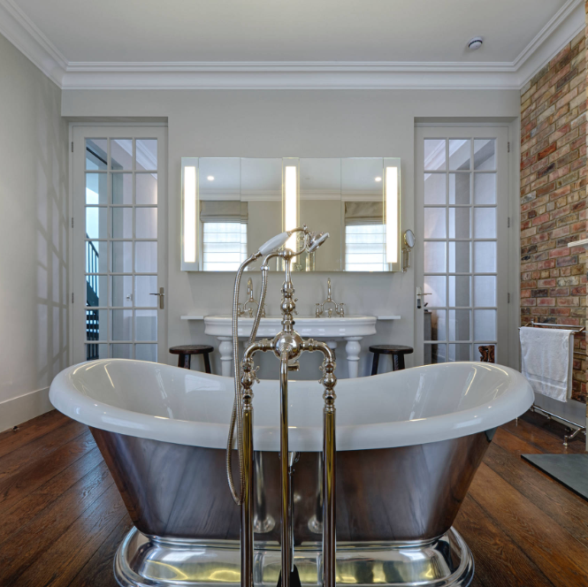 jack and jill bathroom elegant