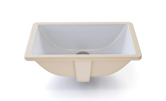 Decolav - Classically Refined Rectangular Undermount Bathroom Sink 1
