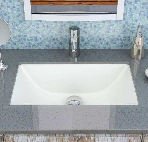Decolav - Classically Refined Rectangular Undermount Bathroom Sink 2