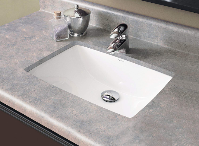Decolav - Classically Refined Rectangular Undermount Bathroom Sink