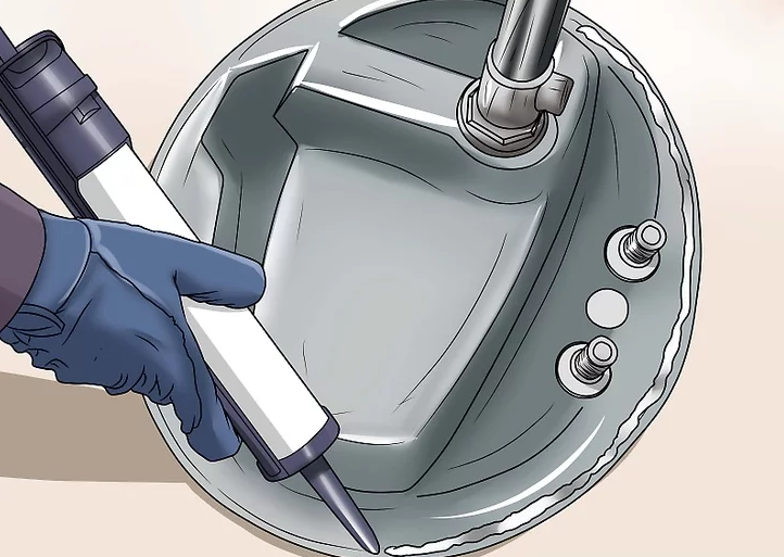 Installing a Bathroom Sink Drain 4