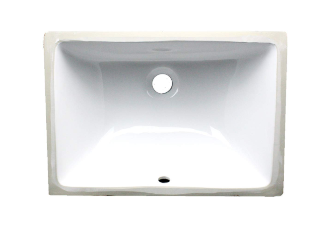 Nantucket Sinks - 16x11 Rectangular Undermount Vanity Sink 1