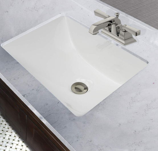 Nantucket Sinks - 16x11 Rectangular Undermount Vanity Sink