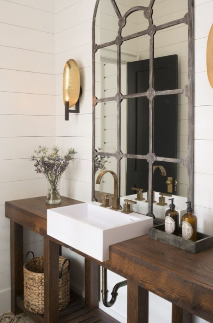 Rustic Bathroom Vanities - Instant Rustic Look
