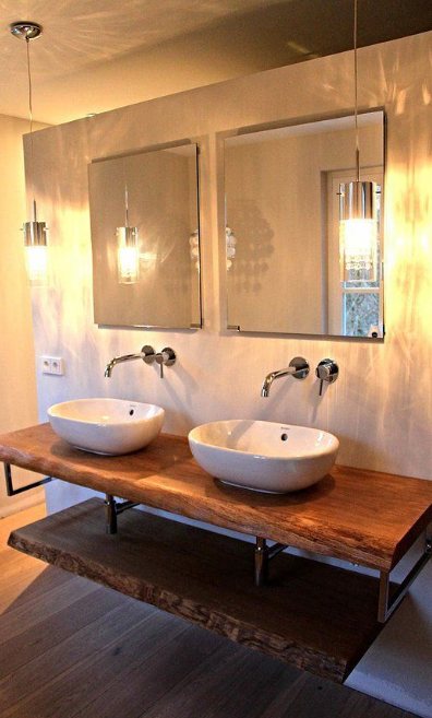 Rustic Bathroom Vanities - Modern Rustic Design