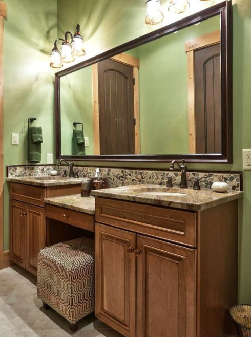 Rustic Bathroom Vanities - Mountain Lodge