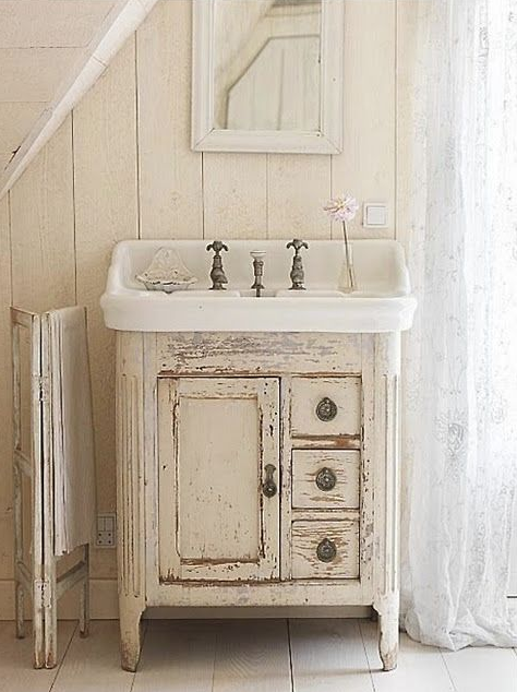 Rustic Bathroom Vanities - Reclaimed Wood
