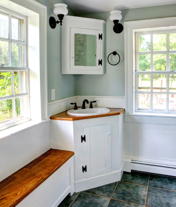 25 Best Corner Bathroom Vanity Ideas for 2019