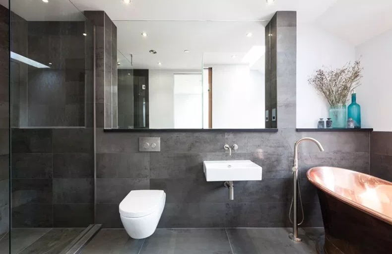 321 Portobello Road - Modern Bathroom