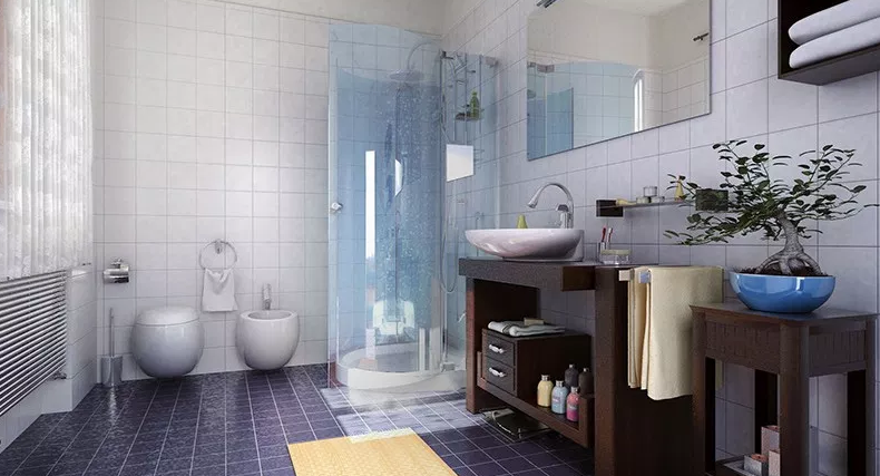 Bathroom. - Modern Bathroom