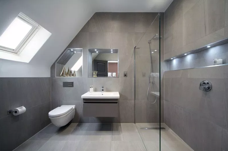 Fairmile Lane. - Modern Bathroom