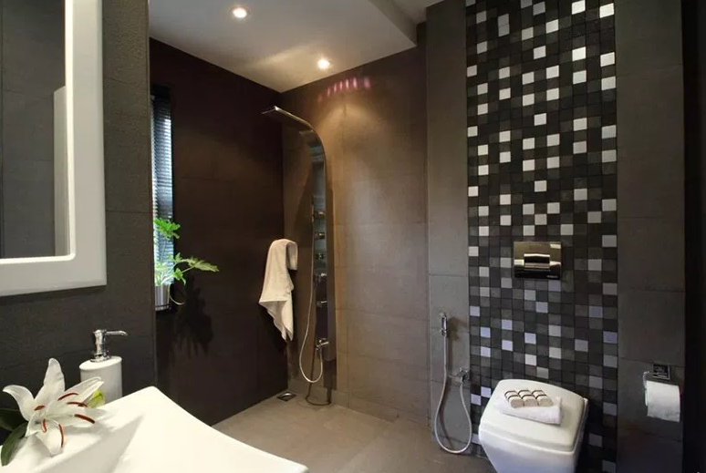 Misty Haven Villa - Modern Bathroom