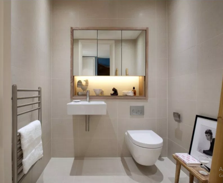 Penthouse Refurbishment in London - Modern Bathroom