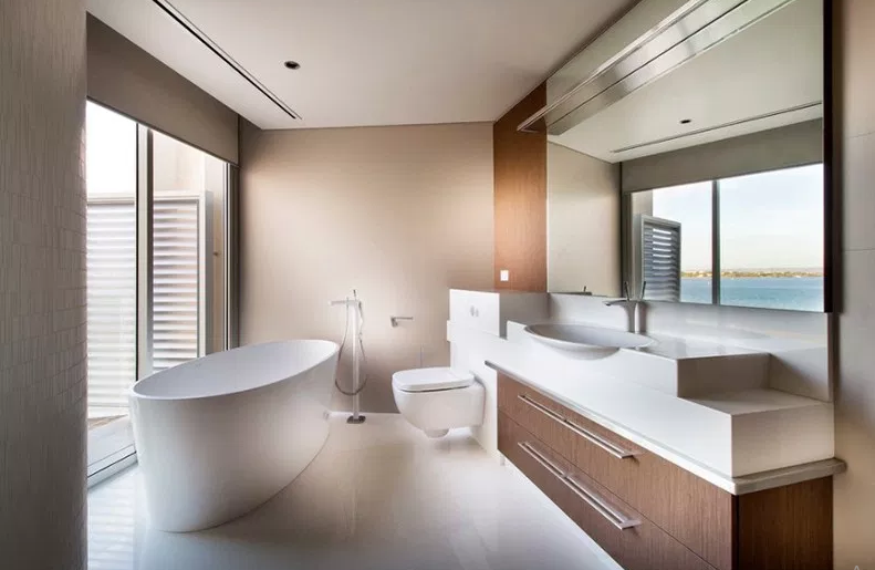 South Perth Foreshore, Western Australia. - Modern Bathroom