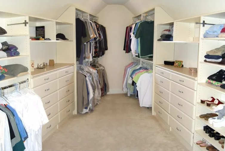 Attic to Closet Conversion - Walk in Closet Ideas