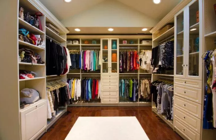 Award Winning Design with Closet Lighting - Walk In Closet Ideas
