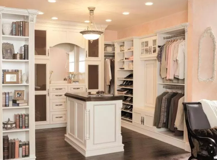 Closet Island with Drawers - Walk in Closet ideas