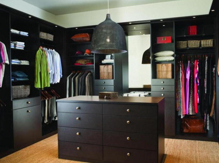 His & Her Master Walk In Closets Design - Walk in Closet Ideas