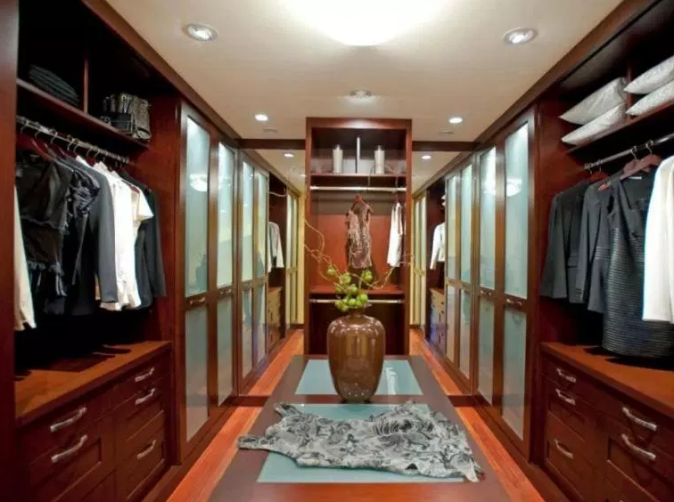 Long, Narrow Walk In Closet - Walk in Closet Ideas