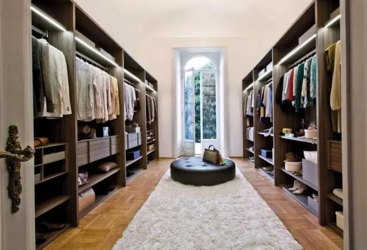 Luxury Closet with Painted Finish - Walk in Closet Ideas