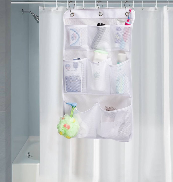 Plastic Bath Caddy for Small Showers