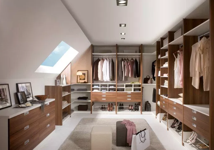 Walk In Closet with Slanted Ceiling - Walk in Closet Ideas